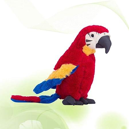 NUOBESTY el Juguete Relleno Loro marioneta Animal de Peluche para los niños bebé niños Regalo de los niños