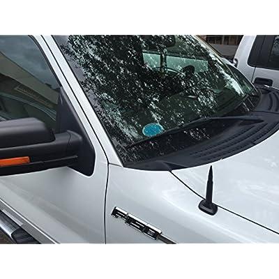 AntennaX 50 Cal Black Bullet (5.5-inch) Ammo Antenna for Nissan Titan: Automotive