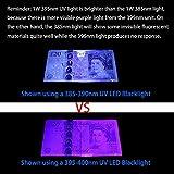 WOWTOU 10W 385nm UV LED Flood Lights Black Light for Neon Glow Blacklight Party Supplies Halloween Lighting