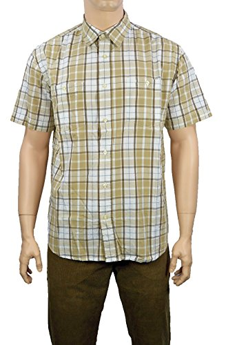 Wrangler Herren Casual Fit Hemd W5724BD33 S/S 2PKT Check Shirt Incense