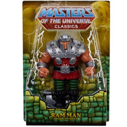 (He-Man Masters of the Universe Classics RAM MAN Exclusive Figure Motu)