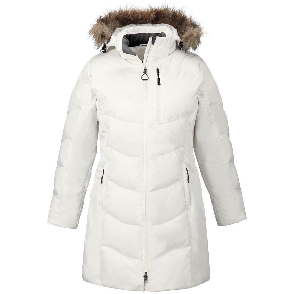Ash City Ladies Down Jacket (X-Small, Winter White)