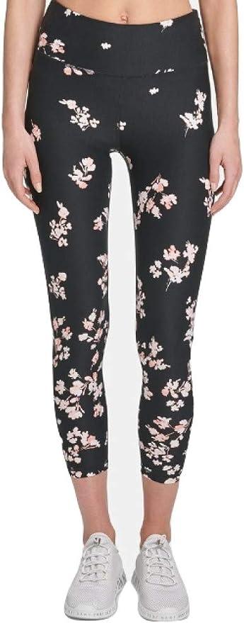 Gym Yoga RRP £60 Small S DKNY Sport Womens Leggings High-Waist 7//8
