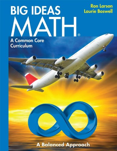 BIG IDEAS MATH: Common Core Student Edition Blue 2014