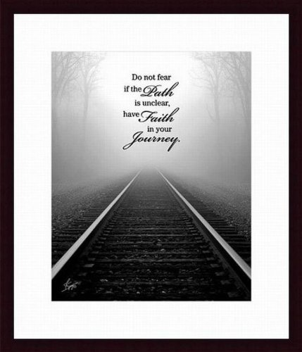 Printfinders Faith in Your Journey by Justin Spivey Wall Decor by Printfinders