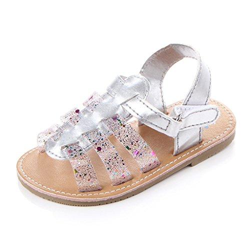 Annnowl Baby Girls Sandals Rubber Sole