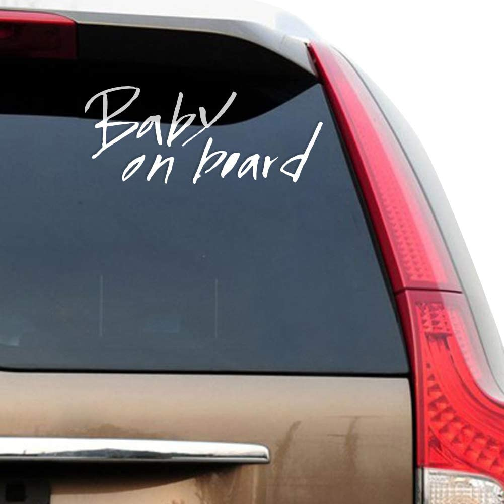 Easy Peel Off HERE I AM Unique /& Cute Car Vehicle Outdoor Decal Sticker Waterproof Durable