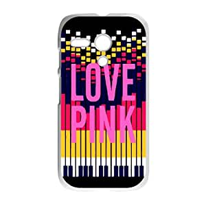 Cell Phone case LOVE Pink Cover Custom Case For Motorola G MK9Q941929