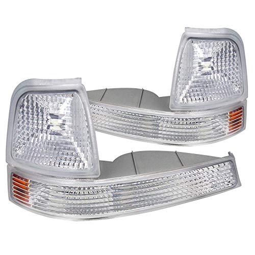 Spec-D Tuning 2LC-RAN98-RS Ford Ranger Xl Xlt Turn Signal Corner Lights Chrome