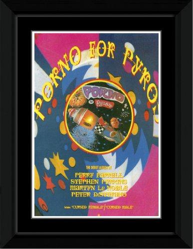 Porno For Pyros - Debut Album Framed Mini Poster - 14.7x10.2cm