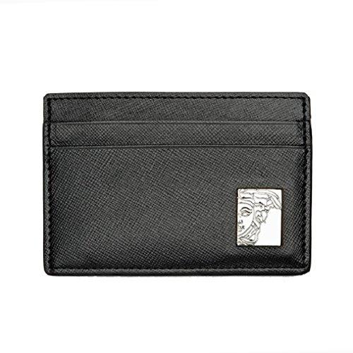 Versace-Collection-Black-Medusa-Logo-Credit-Card-Holder