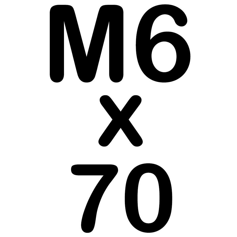 50 Sechskantschrauben Edelstahl M8 x 130mm Vollgewindeschrauben Schrauben DIN 933 A2