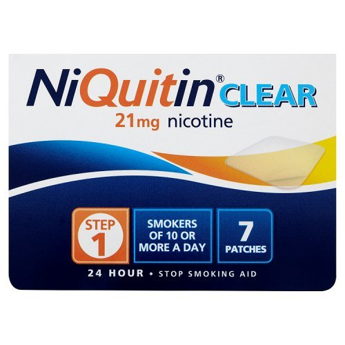 Niquitin Clear 21mg Step 1 7 Patches [Badartikel]