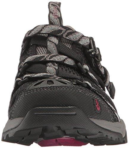 Ahnu Women's W Tilden V Athletic Sandal, Black, 7.5 M US