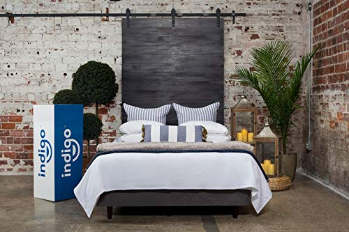 Indigo Sleep Customizable Queen Mattress, Classic Firm, More Supportive and Cooler Gel Memory Foam Sleep Experience for Couples, Custom Comfort, CertiPUR-US, Non-Toxic, Patented Clean Design