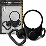 Tactical Safety Essentials Model ASM-QD Combo Angled Ambidextrous Dual Double Two Oval Loop Latch Adapter +