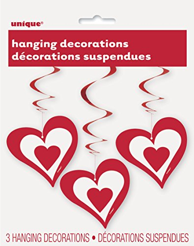 Hanging Hearts Valentines Day Decorations