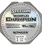Konger, World Champion, lenza in fluorocarbonio, 0,10-0,30 mm/150 m, lenza monofilo super forte di alta qualità (0,02 €/m)., 0,16mm / 150m