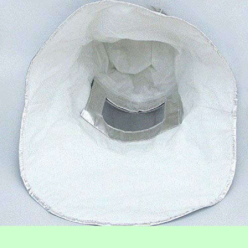 LANTAO Thermal Radiation 1000 Degree Heat Resistant Aluminized Suit Fireproof Cap by LANTAO (Image #1)