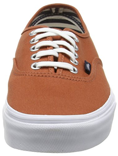 Vans Authentic - Zapatillas, Unisex adulto Marrón (deck Club/auburn)