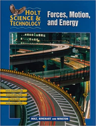 {* TOP *} Holt Science & Technology [Short Course]: Pupil Edition [M] Forces, Motion, And Energy 2002. anlockt Former yiene aircraft Privacy artisan Maestria repisa
