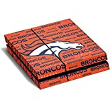 NFL Denver Broncos PS4 Horizontal (Console Only) Skin - Denver Broncos Orange Blast Vinyl Decal Skin For Your PS4 Horizontal (Console Only)