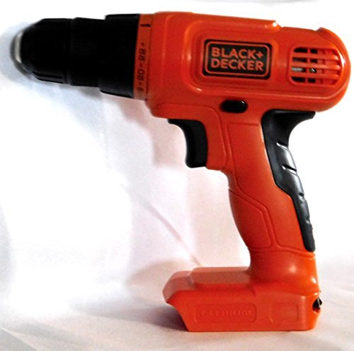 Black + Decker LD120 20-Volt MAX Lithium-Ion Drill / Driver (Bare Tool Only - No Battery - No Charger - Bulk Pack)