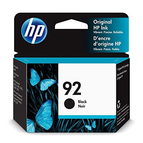 HP 92 | Ink Cartridge | Black | C9362WN (Hp C3180 All In One Printer Ink Cartridge)