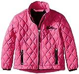 Weatherproof Little Girls Diamond Quilted Thermoball Jacket, Fuchsia, 5/6