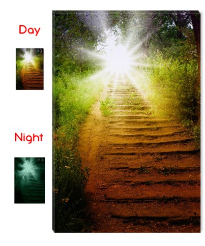 Startonight Canvas Wall Art Way to Heaven, Zen USA Design for