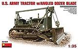 MINIART MIN35184 U.S. ARMY TRACTOR W/ANGLED DOZER BLADE KIT 1:35 MODELLINO MODEL