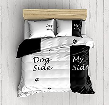 Bettwäsche Side His Side weaver bay side my side bedding set duvet cover with