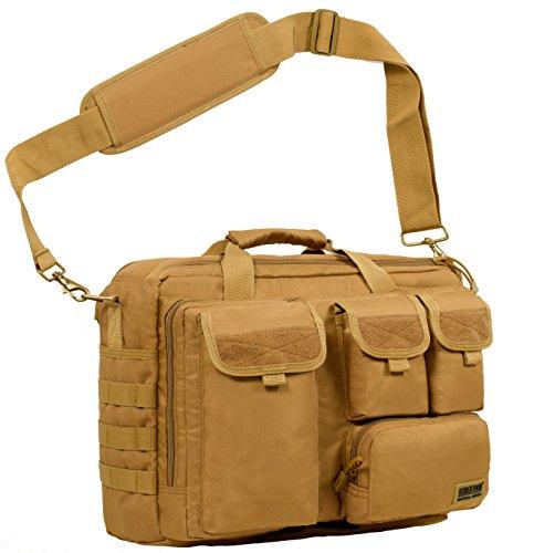 502d73e551b2 Seibertron Pro- Multifunction Mens Military Tactical Outdoor Shoulder  Messenger Laptop Bag Handbags Briefcase Satchel Crossbody