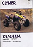 img - for Clymer Yamaha Warrior, 1987-2002 (Clymer Motorcycle Repair) by John R. LaMarsh (2002-01-02) book / textbook / text book