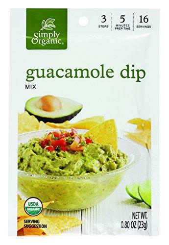 (Simply Organic Dip Mix, Guacamole, 0.8)