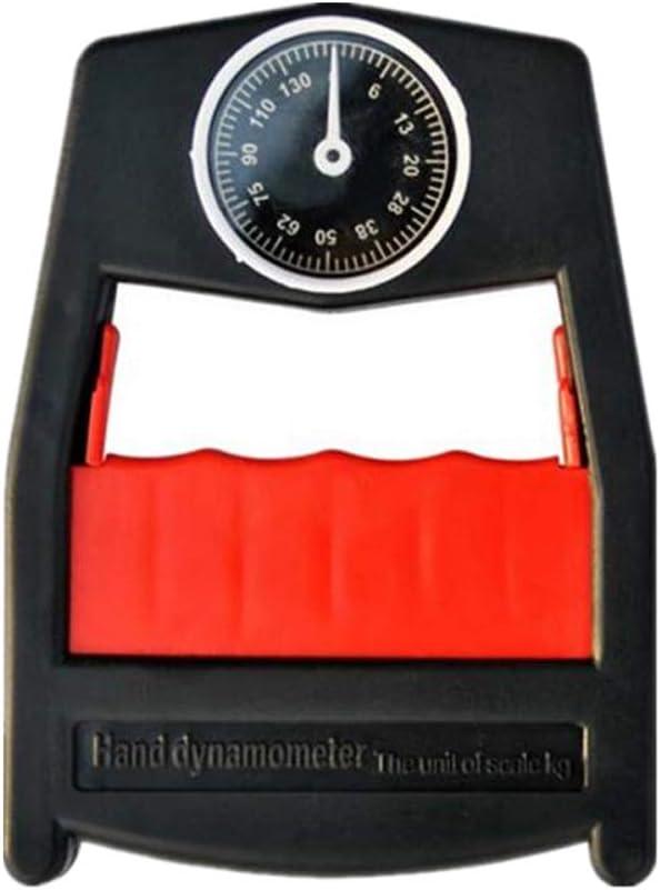 VIDOO 130Kg//286Lbs Medidor De Presi/ón De Mano Dynamometer Grip Potencia Fuerza Medidor Presi/ón Medidor De Fuerza Medidor