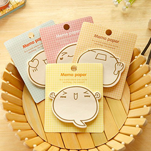 ARCTURUS 5Pcs/set Cute Sticker Post It Bookmark Point Marker Memo Notepad Sticky Notes