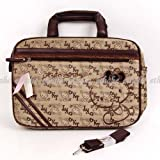 Hello Kitty Knitted Laptop Case Computer Bag Cocoa
