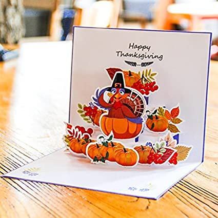 Amazon halloween pumpkin 3d pop up greeting cards all saints halloween pumpkin 3d pop up greeting cards all saints day pop up gift m4hsunfo