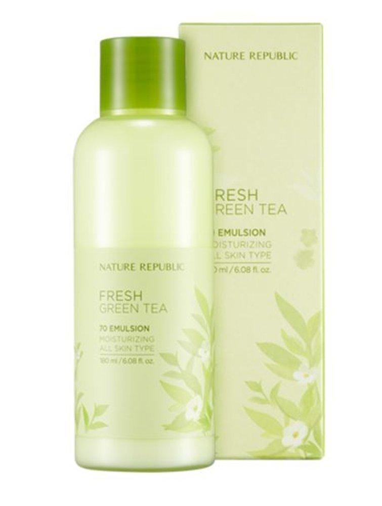 Nature Republic Fresh Green Tea 70 Emulsion 180ml