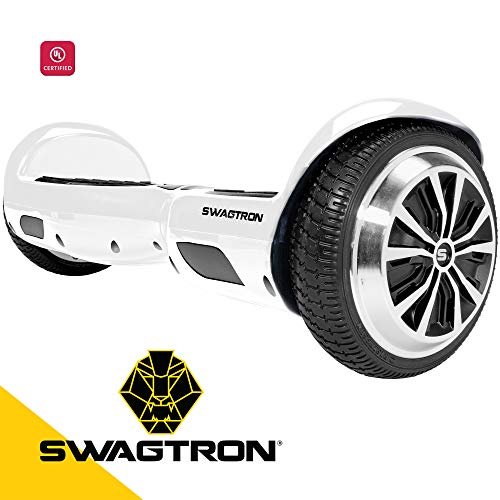 Swagtron Swagboard Pro T1 UL 2272 Certified Hoverboard Electric Self-Balancing Scooter - Your Swag...