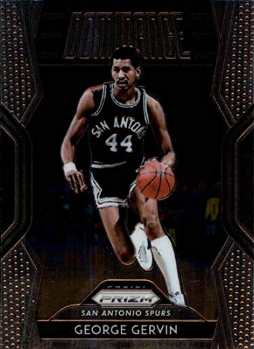 2018-19 Prizm Dominance Basketball #20 George Gervin San Antonio Spurs Official NBA Trading Card From Panini