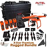 Autel Robotics X-Star Premium Rugged Bundle (Orange) - Includes 4 Batteries + Professional Waterproof Hard Case w/ Wheels & Retractable Handle and more...