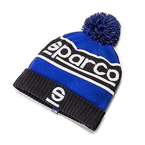 Sparco S01232BMAZ Gorra, Azul, 7