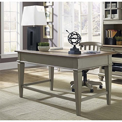 Liberty Furniture 541-HO105 Bungalow Jr Executive Desk, 60