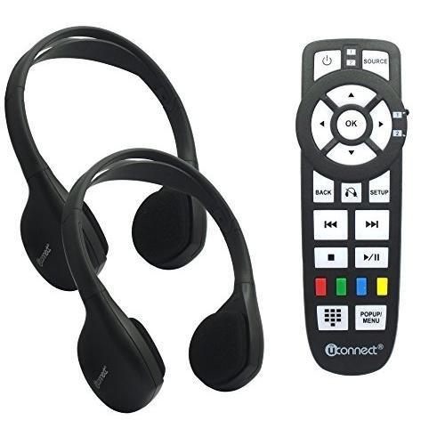 - Mopar Chrysler Dodge Jeep OEM Headphones Control Uconnect Audio Kit