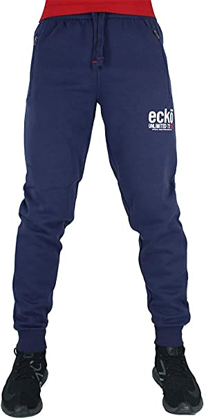 Ecko Hombre Algodón de Diseño Jogger Chándal Pantalones de ...
