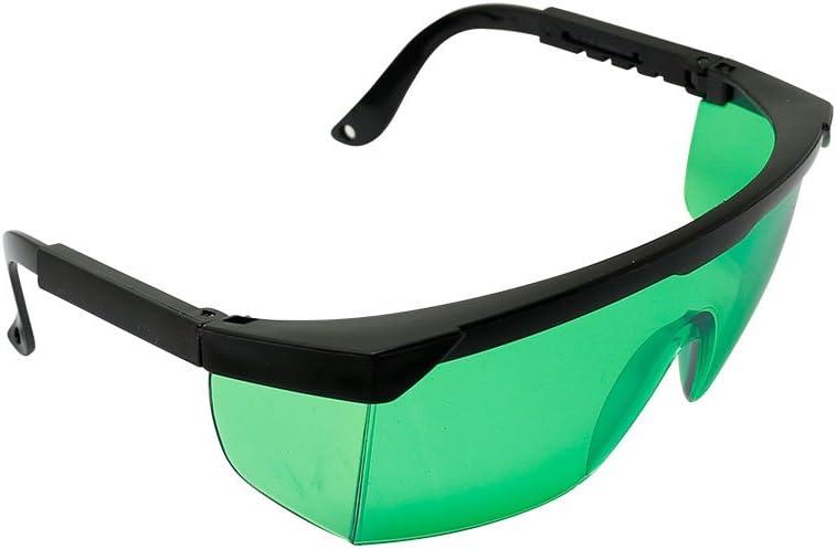 Q-BAIHE 400nm-450nm Violeta/azul Gafas de protección láser Gafas de seguridad