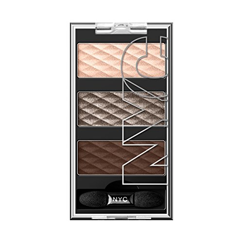 N.Y.C. New York Color HD Color Trio Eye Shadow, Battery Park Brown, 0.158 Ounce