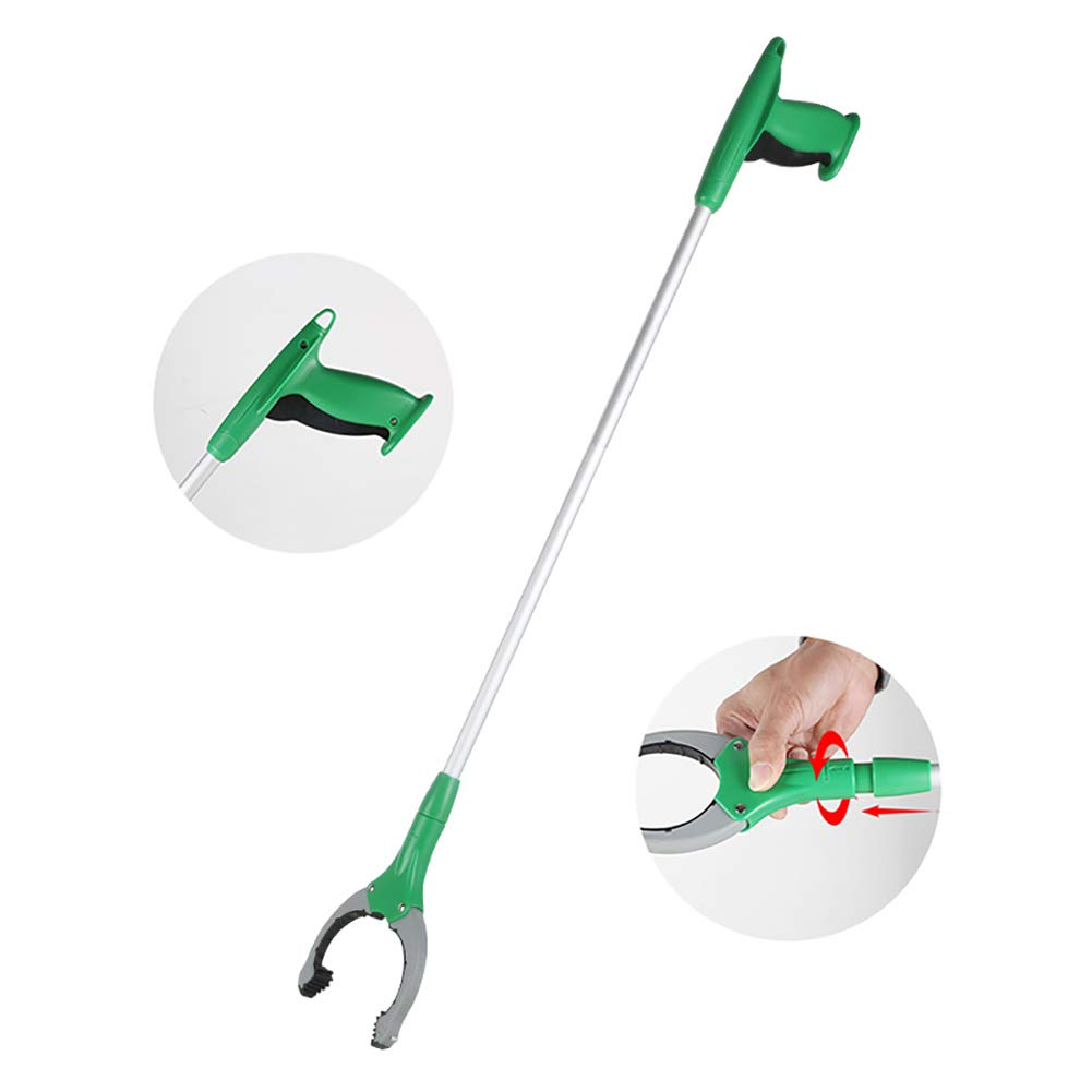 ZDYLM-Y Long Grabber Reacher with Magnet Long Handle Aluminum Alloy Rotatable Environmentally Friendly Picker, Suitable for Garden, Household Picking by ZDYLM-Y (Image #1)